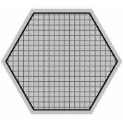 Tag Templates Set #1- Hexagon