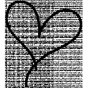 Heart Doodle 03