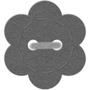 Button Set #1- Felt Flower