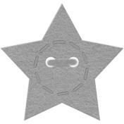 Button Set #1- Felt Star
