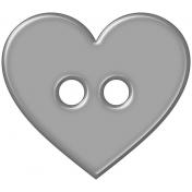Button Set #2- Heart