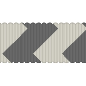 Fat Ribbon Template 04- Chevron 01
