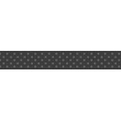 3 inch Fat Ribbon Template- Polka Dots 01
