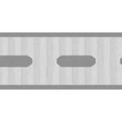 Thin Ribbon Template 02- Dashed