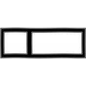 Frame Shape 10- Layered