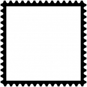 Stamp Frame 012