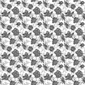 Floral 39 Paper Template