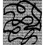 Crayon B- Squiggle