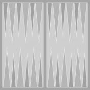 Backgammon Paper Template