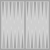 Backgammon Paper Template