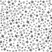 Paper 115- Doodle Stars Template