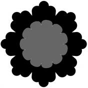 Paper Flower 18 Template