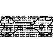 Pet Illustration 006- Polka Dot Bone