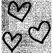 Pet Illustration 014- Hearts
