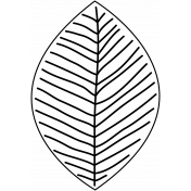 Leaf Drawing 005