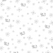 Paper 249- Let It Snow Template