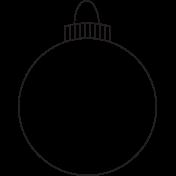 Deck The Halls - Ornament 001 Illustration