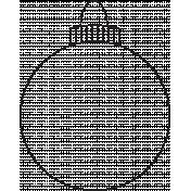 Deck The Halls- Ornament 001 Illustration