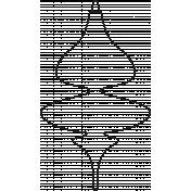 Deck The Halls- Ornament 005 Illustration
