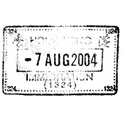 Passport Stamp 033