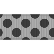 Fat Ribbon Template- Polka Dots 02