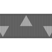 Medium Ribbon Template- Geometric 01