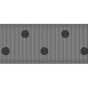 Thin Ribbon Template- Polka Dots 03