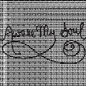 Word 01- Ocean Word Art