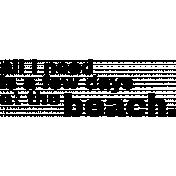 Word 08- Ocean Word Art