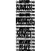 Word 09- Ocean Word Art