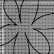Paper 415- Giant Flower Overlay