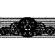 Ephemera 002 Stamp- Where Flowers Bloom