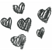 Brush 39AB- Heart Scribble