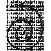 Brush 39J- Scribble