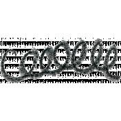 Brush 39R- Scribble
