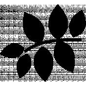 Flower Set 023E Template- Mexico