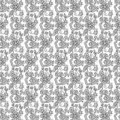 Paper 554- Floral Template