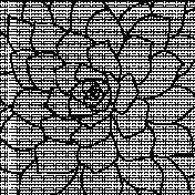 Paper 564- Flower Overlay
