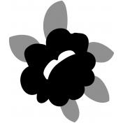 Flower Set 028a- Flower Kit #28 Template