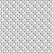 Polka Dots 32- Paper Template