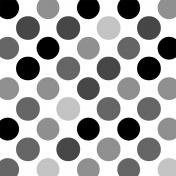 Polka Dots 44- Paper Template