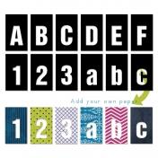 Cutout Alpha- Sans Serif