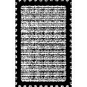 Stamp Frame- 2x3- Round Edge