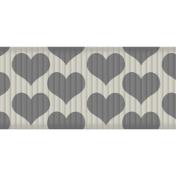 Medium Ribbon- Hearts 01