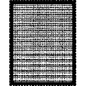 Stamp Frame- 4x6- Round Edge