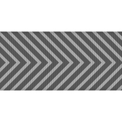 Fat Ribbon Template - Chevron 01