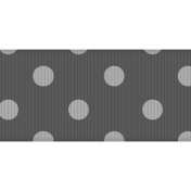 Fat Ribbon Template- Polka Dots 03