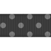 Thin Ribbon Template- Polka Dots 02
