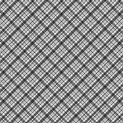 Plaid 34- Paper Template- Single Color/Diagonal