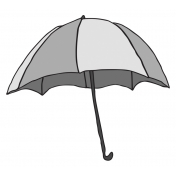 Umbrella Illustration Template